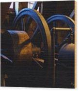 Mill Power Wood Print