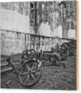 Mill Wheels Wood Print