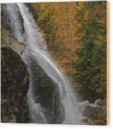 Millbrook Falls Wood Print