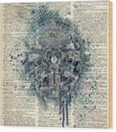 Millennium Falcon Wood Print