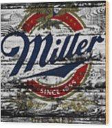 Miller Beer 5b Wood Print