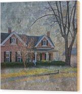 Miller-seabaugh House  Wood Print