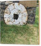 Milling Wheel Wood Print