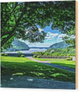Million Dollar View From West Point Military Academy Wood Print