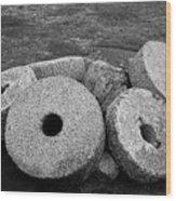 Millstones Wood Print