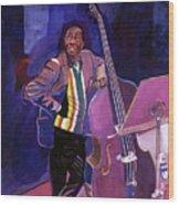 Milt Hinton Jazz Bass Wood Print