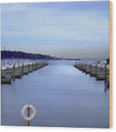 Milwaukee Marina November 2015 Wood Print