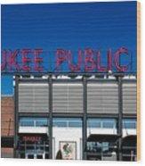 Milwaukee Public Market Wood Print