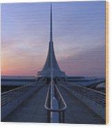 Milwaukee Sunrise 4 Wood Print