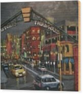 Milwaukee's Historic Third Ward Wood Print by Tom Shropshire