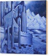 Minas Tirith Wood Print