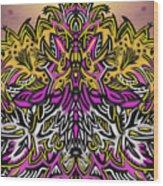 Mind Bending Wood Print