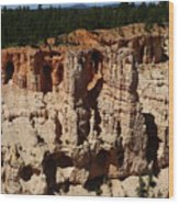 Mind Blowing Bryce Canyon View Wood Print