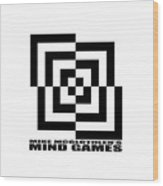 Mind Games 10se Wood Print