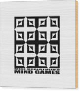 Mind Games 37se Wood Print