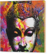 Mind Wood Print by Ramneek Narang