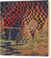 Mindscape Wood Print