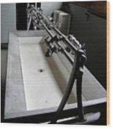 Miner Communal Sink Wood Print