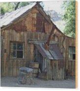 Miners Cabin. Wood Print