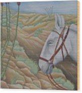 Miner's Companion Wood Print