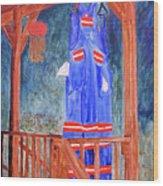 Miner's Overalls Wood Print