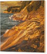 Miner's Point Wood Print