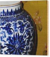 Ming Vase Wood Print by Al Bourassa