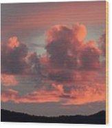 Mingus Sunset 052814bb Wood Print