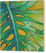 Mini Tropicals 2 Wood Print