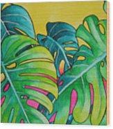 Mini Tropicals 3 Wood Print