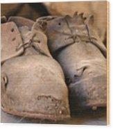 Mining Shoes  Langban Sweden Wood Print