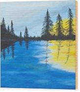 Minnesota Lakes Wood Print