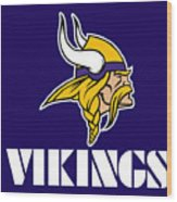 Minnesota Vikings Wood Print