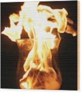 Minor Explosion Wood Print
