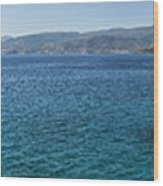 Mirabello Bay Panorama Wood Print