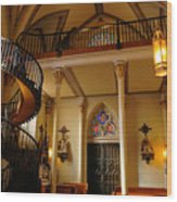 Miraculous Staircase Wood Print