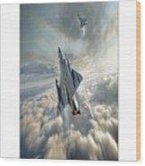 Mirage IIi   Wood Print
