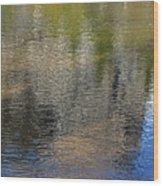Mirror Lake Reflections 04 13 Wood Print