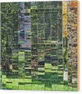 Mirrored Landscape Wood Print