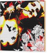 Mischievious Hummingbird Wood Print