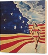 Miss America? Wood Print