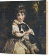 Miss Jane Bowles Wood Print