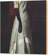 Miss Kaji Waki 1909 Wood Print