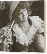 Miss Marie Studholme As Lady Madcap 1905 Wood Print