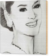 Miss Universe 2015 Wood Print
