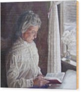 Miss Wendle-Barkerville Wood Print