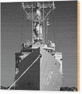 Missile Destroyer Wood Print