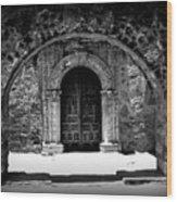 Mission Archway II Wood Print