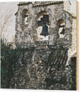 Mission Bells On Side Wall Wood Print