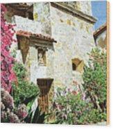 Mission Carmel Bell Tower Wood Print